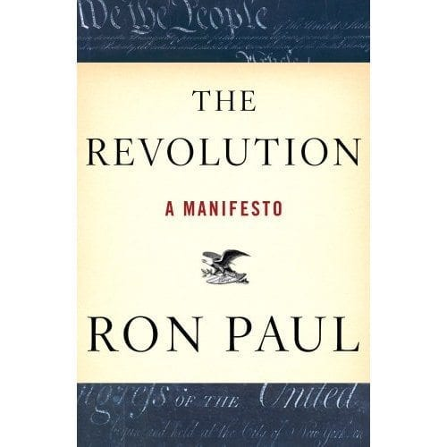 Ron Paul's Reading List from The Revolution: A Manifesto